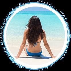 Protección al estar en la playa